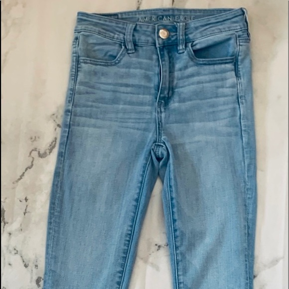 American Eagle Outfitters Denim - 015) American Eagle High rise
